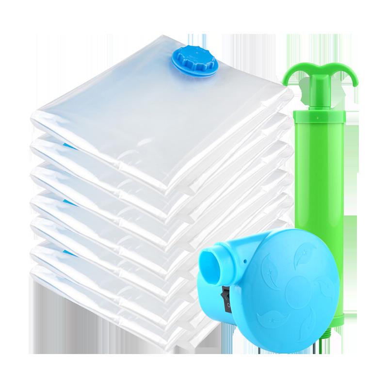 Flat vacuum storage bag